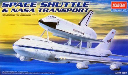 12708 Самолёт Space Shuttle & Jumbo 747