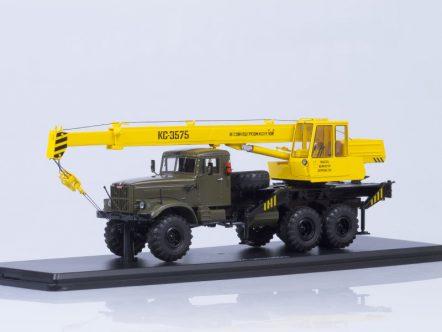 1185 Автокран КС-3575 (на шасси КРАЗ-255Б1)