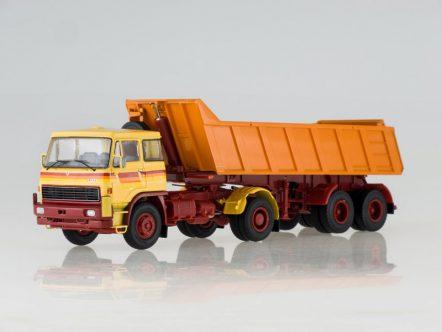 47034 Модель LIAZ-100.471 с полуприцепом-самосвалом