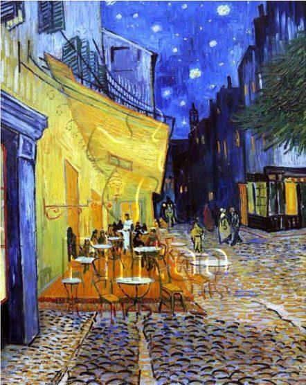 Н1762 Ван Гог. Терраса ночного кафе